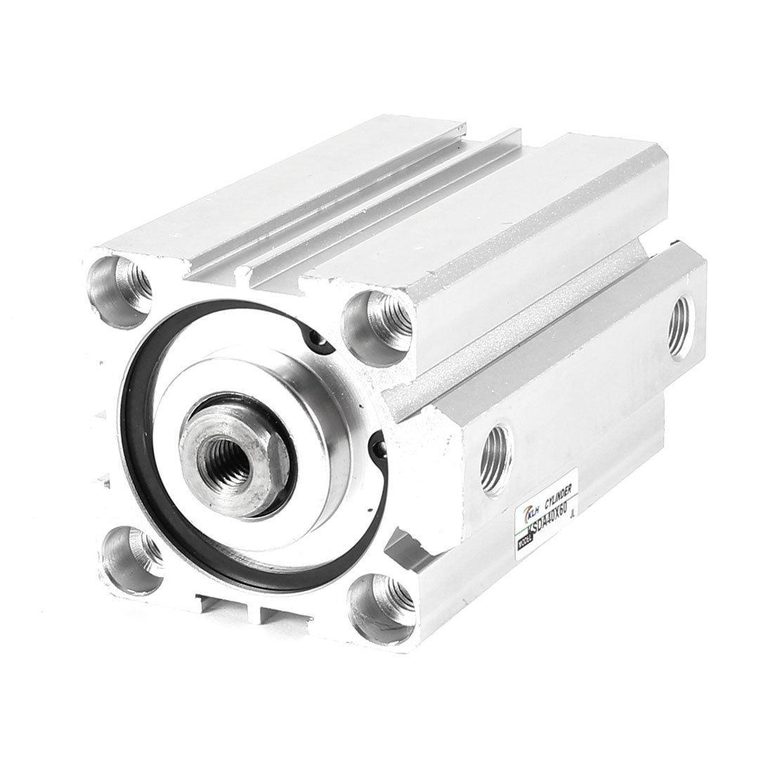 1 Pcs 50mm Bore 15mm Stroke Stainless steel Pneumatic Air Cylinder SDA50-15 1 pcs 50mm bore 25mm stroke stainless steel pneumatic air cylinder sda50 25