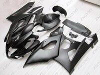 Fairing GSXR 1000 2005 2006 K5 Matter Black Motorcycle Fairing GSXR1000 2005 Abs Fairing GSX R1000 2006