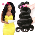 Peruvian Virgin Hair Body Wave 3 Bundles Cheap Pervian Virgin Hair Bundle Deals Peruvian Body Wave Human Hair Weave Extensions