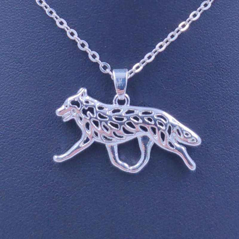 2019 Australian Cattle  Necklace Dog Animal Pendant Gold Silver Plated Jewelry For Women Male Female Girls Ladies Kids Boys N151