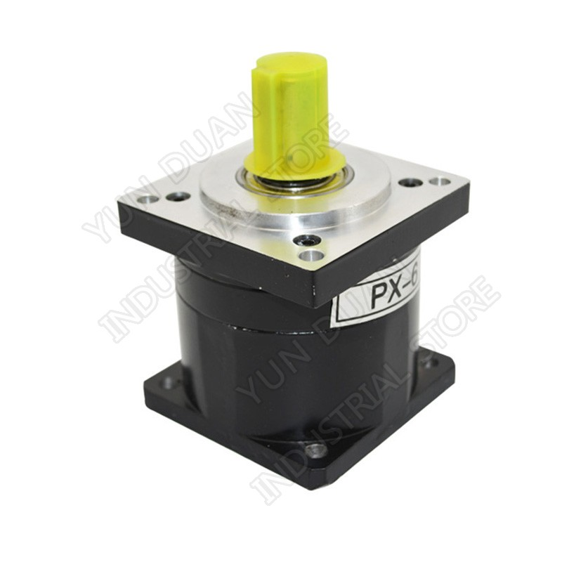 Planetary Gearbox Ratio 5 :1 Nema52 130mm Speed Reducer Carbon steel Gear for Stepper MotorPlanetary Gearbox Ratio 5 :1 Nema52 130mm Speed Reducer Carbon steel Gear for Stepper Motor
