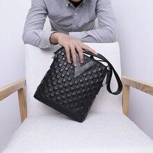 купить BAQI Brand Men Handbags Genuine Leather Cowhide High Quality Men Shoulder Bag Crossbody Messenger Bag 2019 Fashion Business Bag по цене 2618.27 рублей