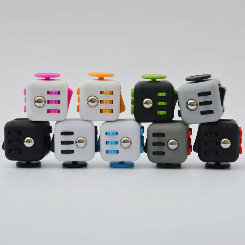 Factory Direct Sale Anti Irritability to Ease the Pressure Fidget Cube Toys Stress Reliever Magic Cube
