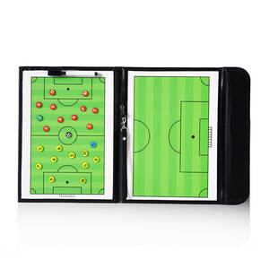 Football Tactics Board 25 Fold jiao lian ban a Leather Board Color Folding a Magnetic