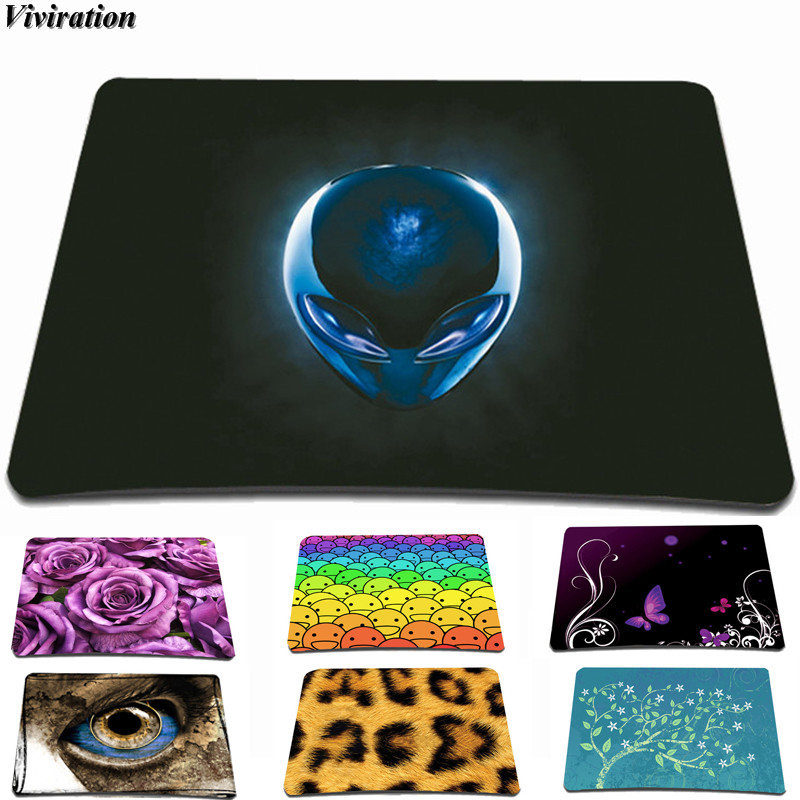 Small Size 21*18cm Rubber Computer PC Gaming Mouse Pad Mat For Trackball Mouse Mice For Csgo Overwatch Viviration Boys Mouse Pad