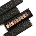 Natural Eye Makeup Light Ten Colors Eye Shadow Focallure Makeup Palette Makeup Shimmer Matte Eyeshadow Palette Set