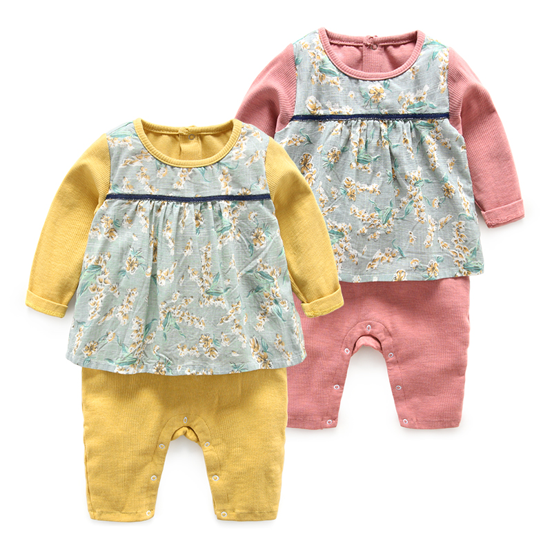 Baby clothes newborn girls rompers long sleeve jumpsuits autumn cotton bodysuits hhtu baby rompers long sleeve baby girls clothing jumpsuits children autumn newborn baby clothes cotton