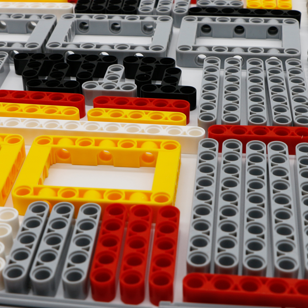 548PCS Blokovi Tehnički dijelovi Glava konstrukcijskog opleta MOC - Izgradnja igračke - Foto 6
