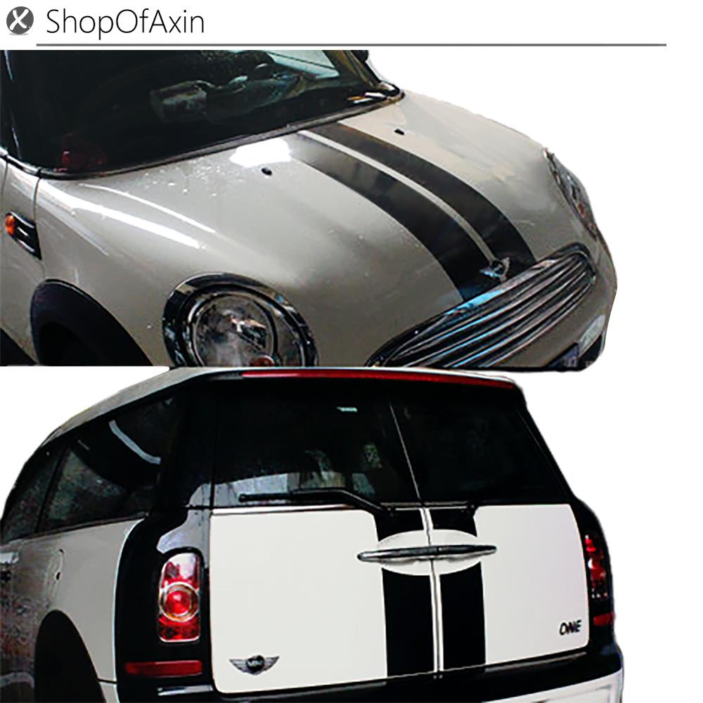 Car Hood and trunk Luggage Door Decoration Sticker parallel Style For Mini Cooper Clubman R55