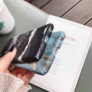 Image 4 - 大理石電話バックケース Huawei 社 P20 P30 メイト 20 プロ Lite ノヴァ 4 1080p スマート 2019 名誉 10 lite パターンハード PC フルカバー Coque