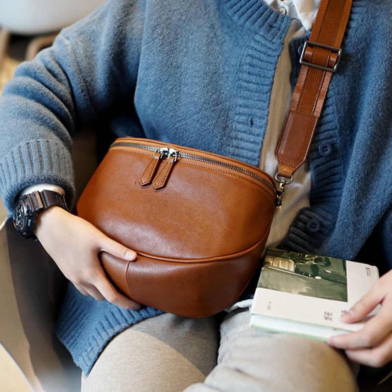 Кожаная сумка AETOO для мужчин и женщин в стиле ретро, ручная работа, косая сумка из воловьей кожи, Повседневная Корейская версия