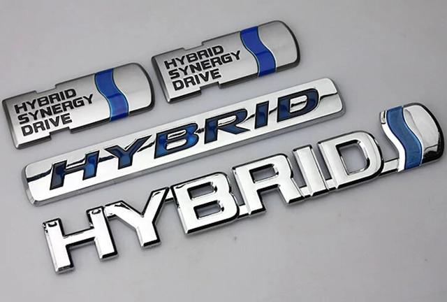 Hybrid Sticker Badge Emblem Car Logo For Toyota Camry Personalized Refit Drive