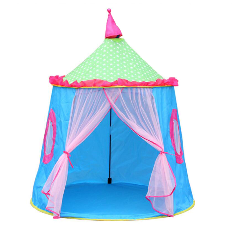 Toy Tents Play Game House Ball Pool Pit Foldable Folding Indoor Outdoor Portable Tent Tipi Toys Gifts For Kids Children Baby NEW safety kids teepee children tipi toy baby pink play tent ball pit playpens house portable tente enfant lodge gift game room