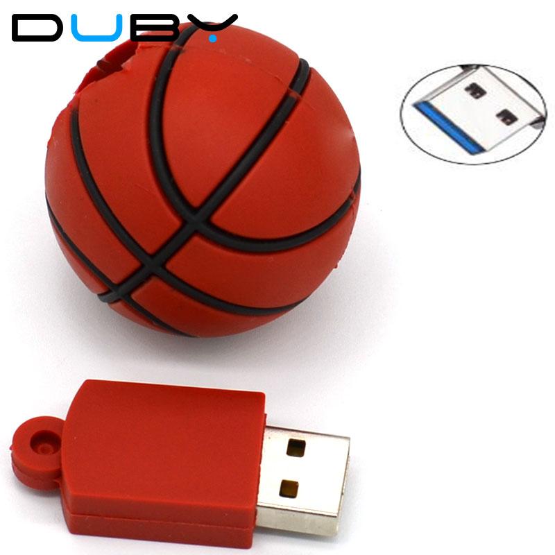 Basquete futebol dos desenhos animados usb flash drive USB 3.0 de ... e901fd71178c1