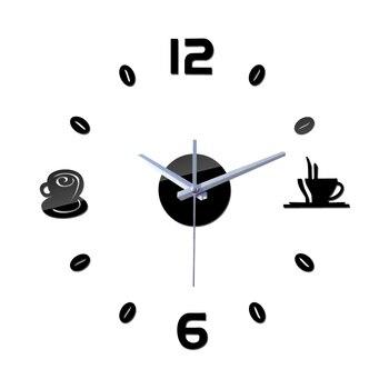 new 2019 sale time-limited real quartz wall clocks coffee diy fashion modern still life large decorative horloge digital clock 1