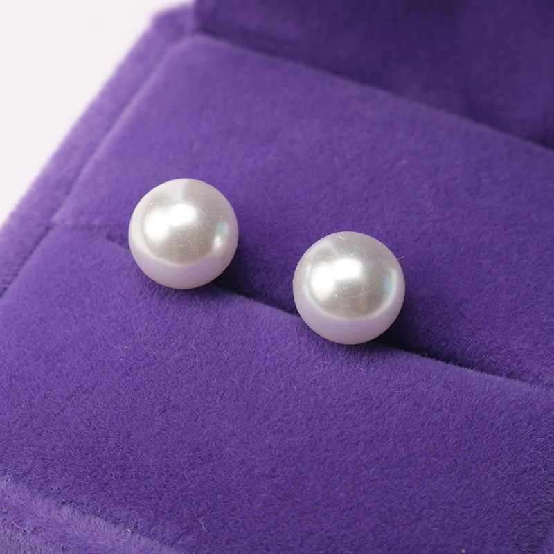 New Fashion Stud Earring for Women Simulated Pearl White Ball Earrings Female Girls Jewelry Piercing  Brincos Gifts Oorbellen