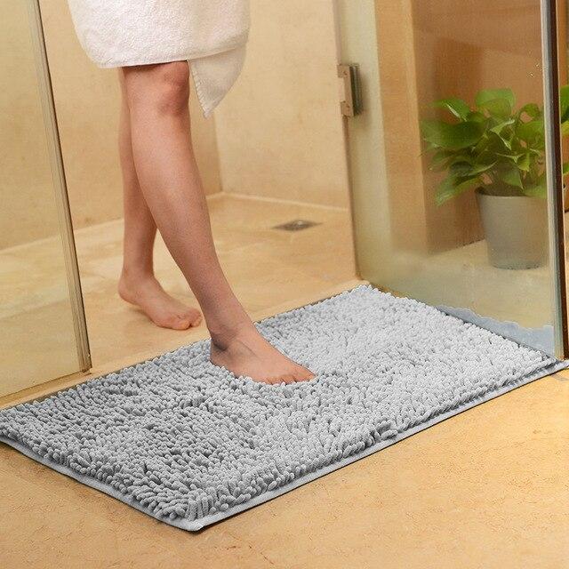 Ciniglia Super Assorbente Da Bagno Zerbino di Spessore Anti-slip Cucina Bagno Piano Tappetini Morbido Porta Tappeto Zerbino