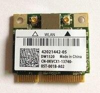 SSEA Novo para Broadcom BCM943224HMS DW1520 BCM4322 Cartão Metade MINI PCI-E Sem Fio 802.11 a/b/g/n para dell Inspiron 1320 1370 1440