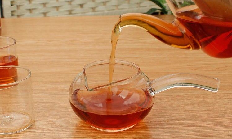 1 шт. высокая термостойкость Стекло Чай ярмарка чашки справедливость Apple Чай Стекло ча ...