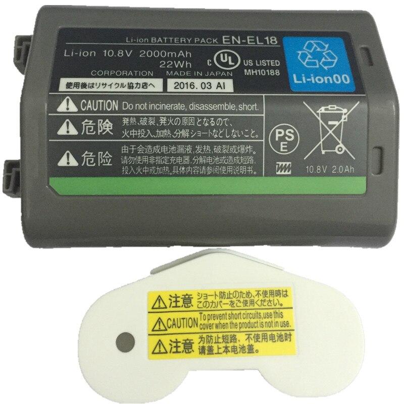 EN-EL18 EN-EL18A batterie al litio pack ENEL18A ENEL18 EN EL18 ENEL18 Digitale DSLR batteria Per Nikon D5 D4 D4X D4S