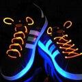 New Cool 19 Цвета Для Pick LED Flash Light Up Мигающий цветные Светящиеся Неоновые Шнурки Светящиеся Шнурки Партии Glow in the Dark игрушки