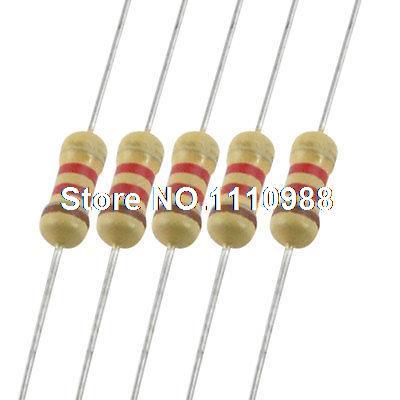 5000 x Resistors 1K2 1.2K Ohms OHM 1/4W 5% Carbon Film 1 4w resistors pack 168 values x 10pcs 1680pcs 0 1 10m 1