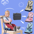 Baby Eat Chair with Chair Seat Bag Portable Kids Chair Child High Chairs Seat Belts Safety Belt Folding Dining Feeding Belt