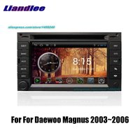 Liandlee 2din For Daewoo Magnus 2003~2006 Car Android Radio GPS Maps Navigation player BT WIFI HD Screen Multimedia System