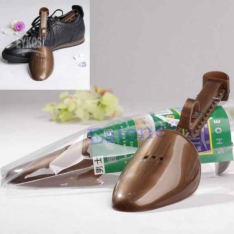 25-32cm Thời Trang 1 Điều Chỉnh Nam Giày Nhựa Cây Giữ Hỗ Trợ Miếng Dán Giày Shapers Chắc Chắn Chất Lượng Cao randomColor