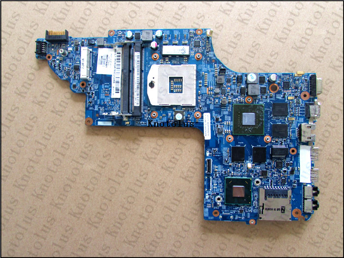 682174-501 682174-001 for HP Pavilion DV6 DV6T DV6-7000 laptop motherboard with GT650M2G Free Shipping 100% test ok 815248 501 main board for hp 15 ac 15 ac505tu sr29h laptop motherboard abq52 la c811p uma celeron n3050 cpu 1 6 ghz ddr3