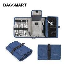 Travel กระเป๋า,อุปกรณ์เสริมกระเป๋าใส่กระเป๋าสำหรับ หูฟัง Organizer