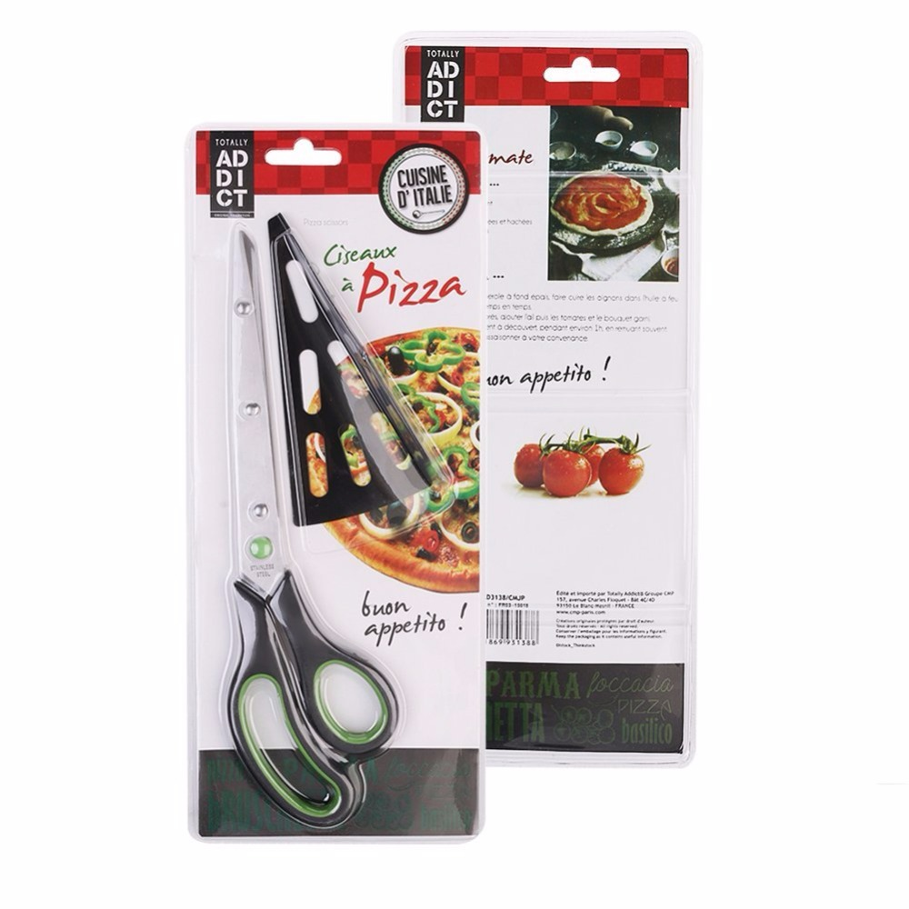 11 Inch Stainless Steel Pizza Scissors Easily Getting Your Hot Pizza ...