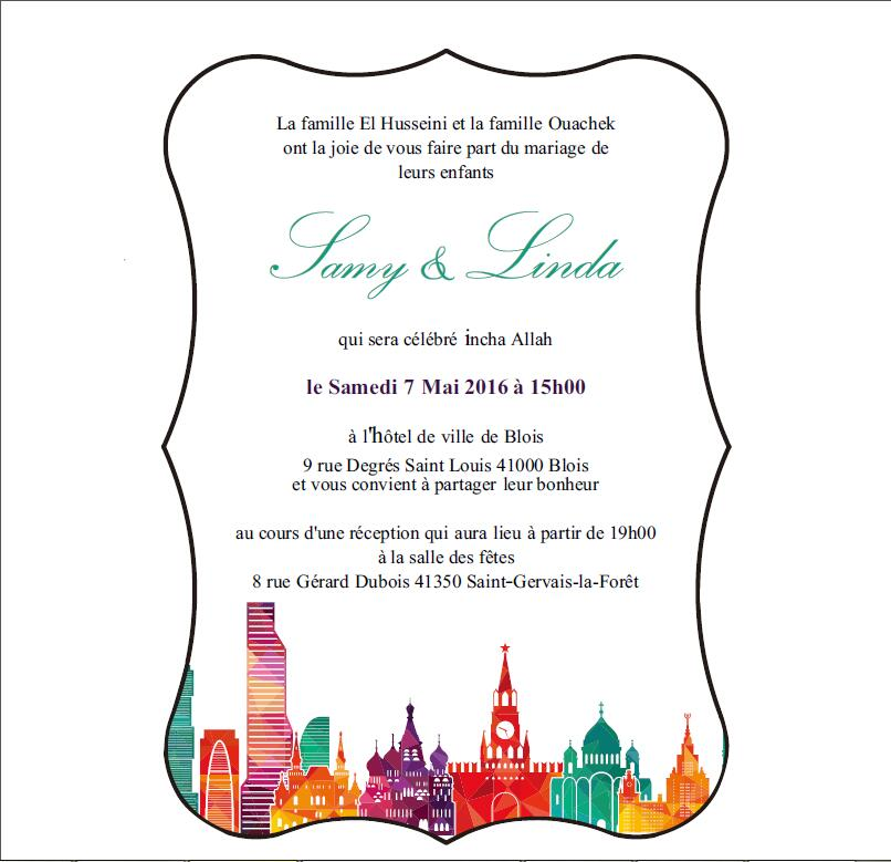 Customized City Impression 5*7inch Frosted Acrylic Wedding Invitation Card  Printing Letters(1lotu003d