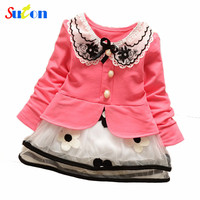 2015 Spring New Baby Girls Coat Mickey Minnie Mouse Duck Zip Cardigan Jacket Children S Clothing