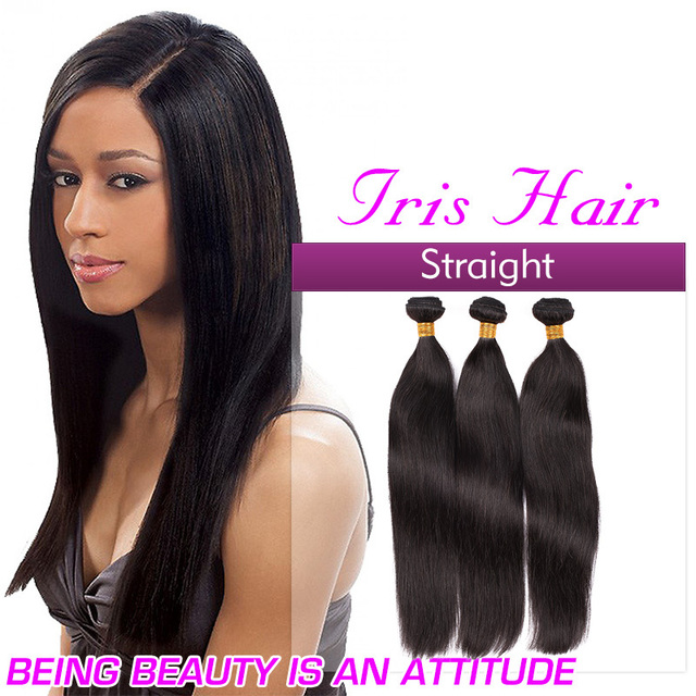 Whole Straight Brazilian Virgin Hair Weave Milky Way 3 Bundles Human Extensions Free Shipping