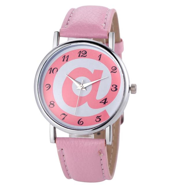 OTOKY 2017 Dignity Fashion Women Analog PU Leather Quartz Wrist Watch Watches  MA 23