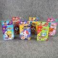 6 шт./лот Йо-кай Часы Кирпич блоки Мини рисунок Японии Аниме Yokai Часы Детские Строительство Классический Рисунок Игрушки Интеграл карты Подарки