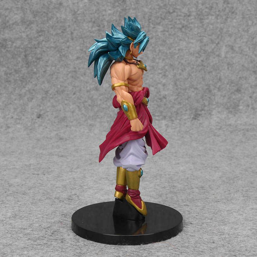 18 cm Dragon Ball Z Figuras de Ação Brolly Super Saiyan Broly Brolly PVC Action Figure Collectible Modelo Crianças Brinquedos