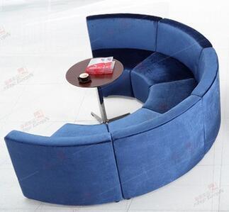 Луи Мода отель диваны бутик офисная мебель круглый Творческий ткань или из искусственной кожи искусство диван сочетание - Цвет: A Style 1 piece