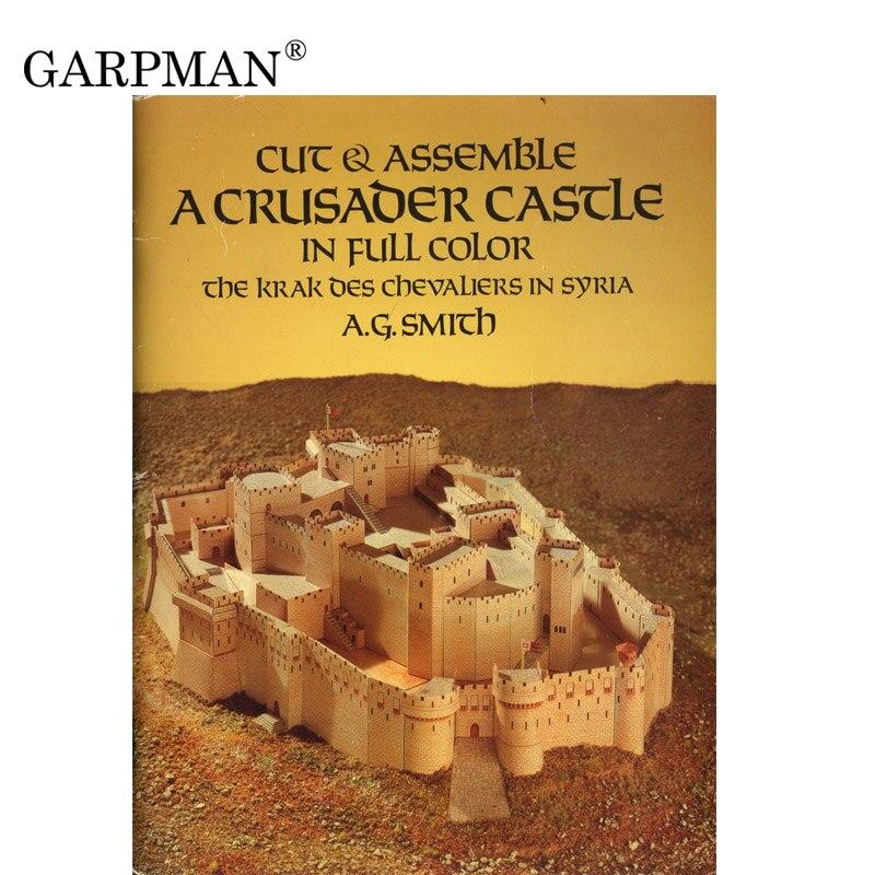 25cm Crusader Castle Paper Model
