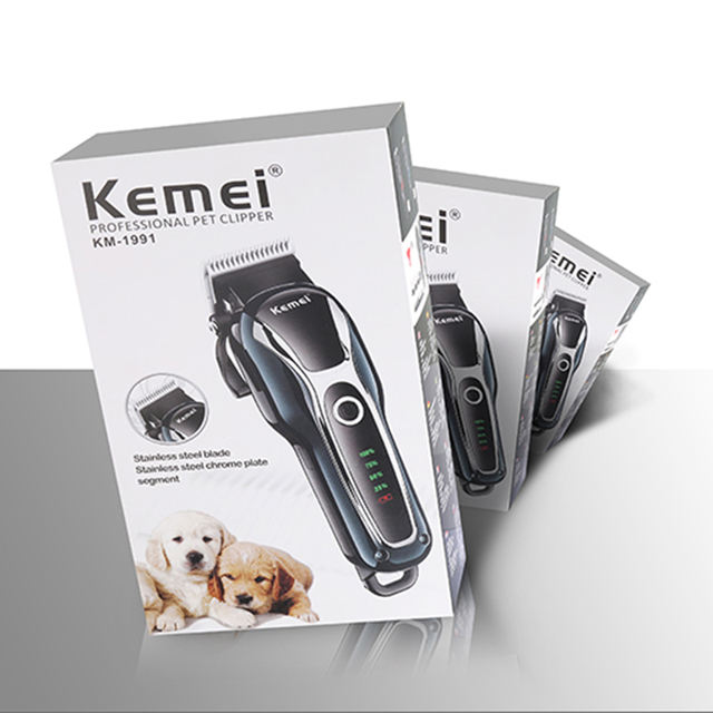 100-240v rechargeable professional dog hair trimmer for cat cutter grooming machine hair remover animal hair clipper for pet