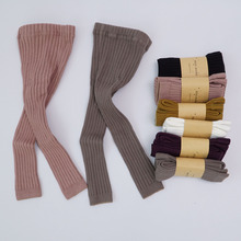 2016 High quality tights child Solid color baby tights Hot-sale tights for girl Cotton newborn baby tights infant pantyhose