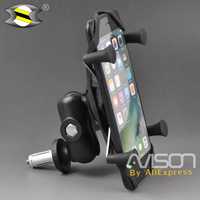 Motorcycle Navigation IPhone Bike Mount Sat Nav Mount Holder for HONDA VFR 1200F / VFR 800F / CBR 600RR / CBR 600F4I