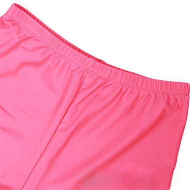 YGYEEG 2019 pantalones Sexy de cintura alta de color sólido caramelo neón mujeres verano Leggings alto estiramiento pantalones ropa Ballet pantalones recortados