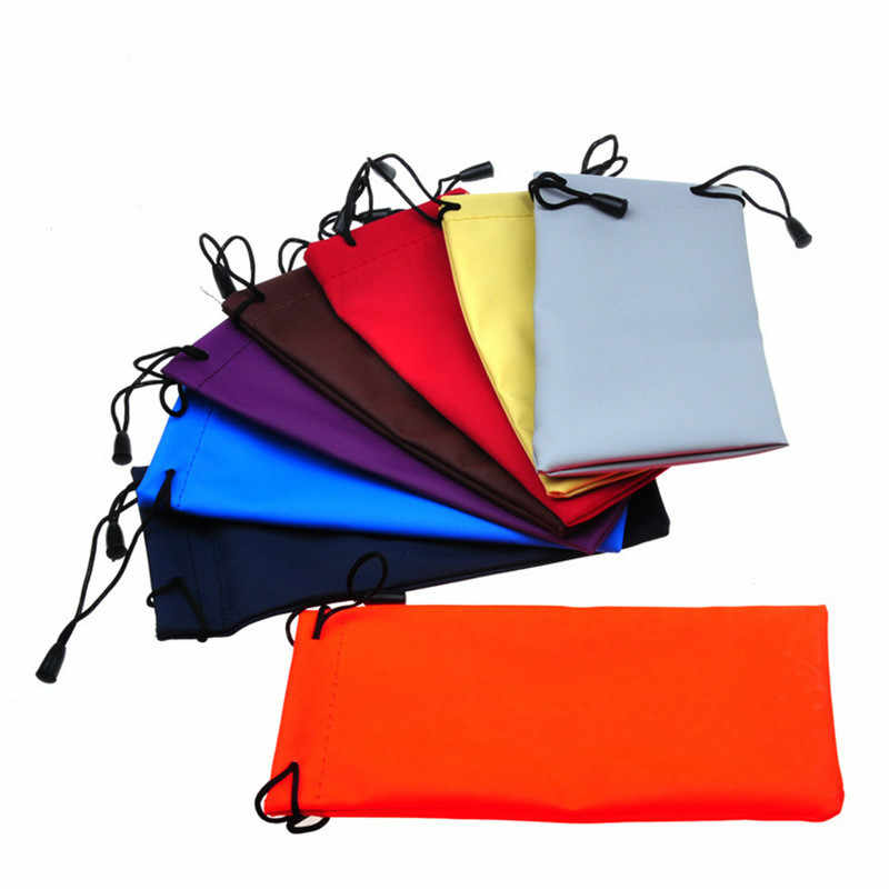 1PC Pouches Soft Cloth Dust Pouch Optical Glasses Carry Bag for Sunglasses MP3 Player / Phone /Reading Glass Drop Shipping