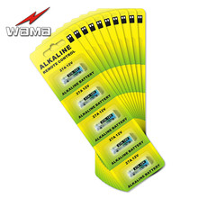8packs/40pcs Wama Alkaline Battery 27A 12V A27 MN27 l828 27AE Batteries For Alarm Doorbell Head Lamp Electronic Pen