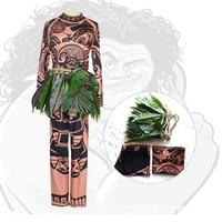 Moana Maui Daily Cloth Cosplay Costume