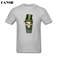 Rock Shirts Men Male Baron Samedi Men Tshirt 100 Cotton Short Sleeve Family Brand Clothing