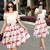 Fashion Brand Women Dress 2015 Women Dress Suits For Weddings Bohemian Summer Cotton Lace Dresses Summer
