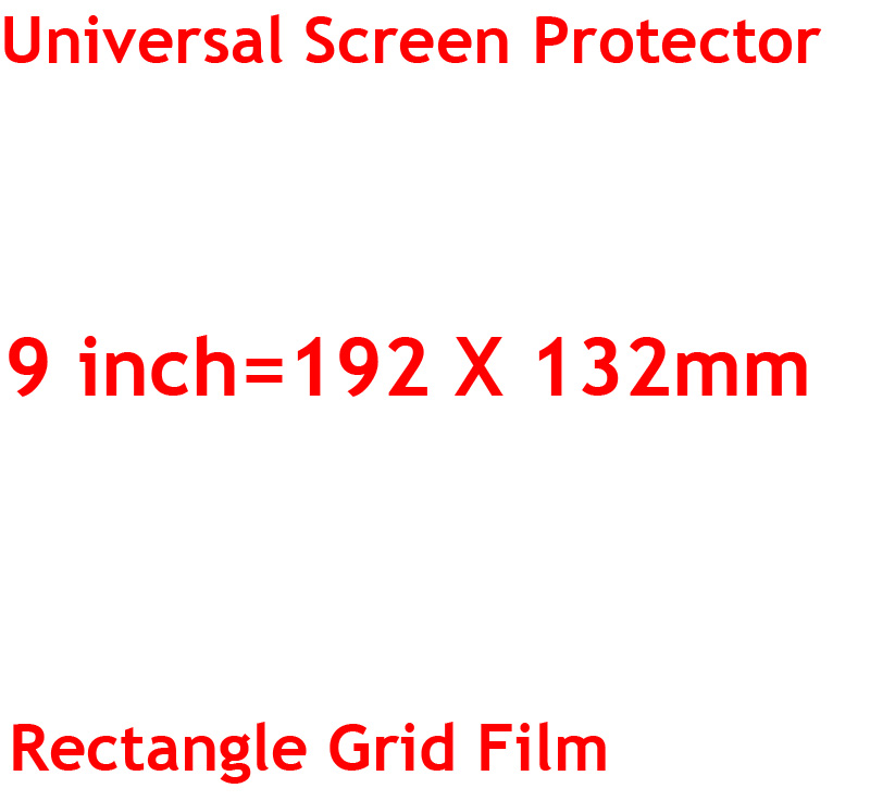 3 sztuk/partia jasne lub matowe uniwersalny ekrany ochronne 5/6/7/8/9/10/11 /12 Cal folie ochronne dla telefonów komórkowych tablet z funkcją telefonu samochód GPS LCD 15